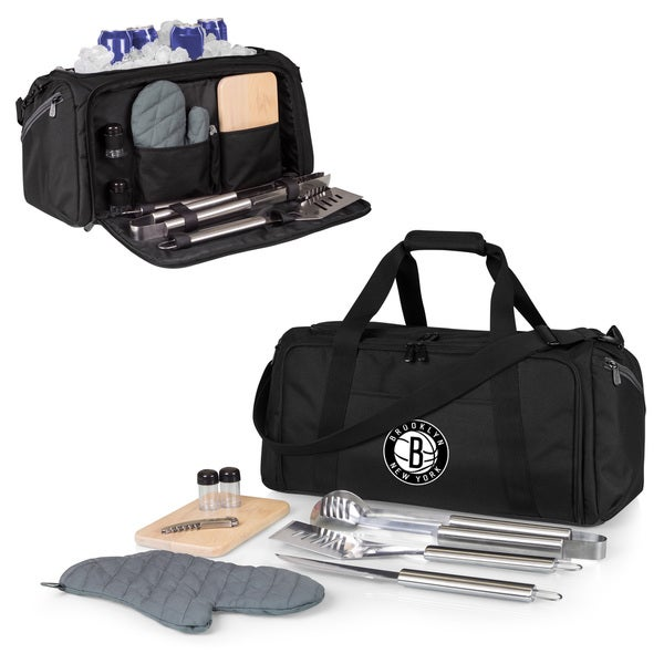Picnic Time Brooklyn Nets BBQ Kit Cooler