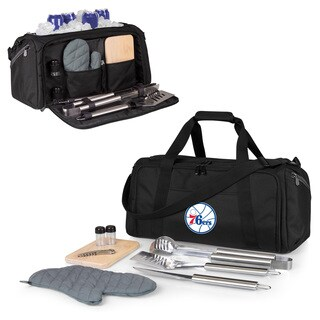 Picnic Time Philadelphia 76ers BBQ Kit and Cooler
