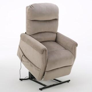 Christopher Knight Home Larissa Fabric Recliner Lift Club Chair