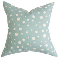 Bebe Polka Dots Throw Pillow Cover