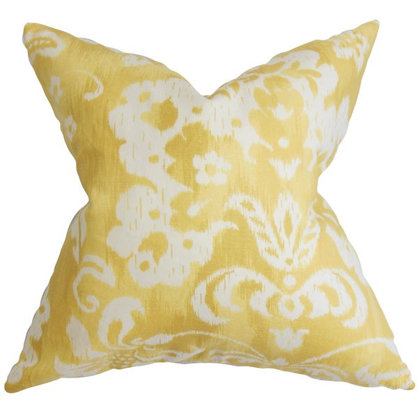 Decorative Pillow Covers Overstock : Emese Floral Throw Pillow Cover - Free Shipping Today - Overstock.com - 18840533