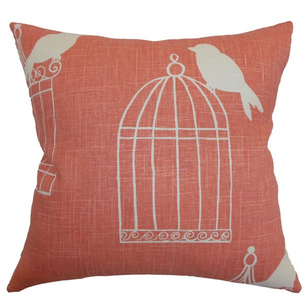 Decorative Pillow Covers Overstock : Alconbury Birds Throw Pillow Cover - Free Shipping Today - Overstock.com - 18840594