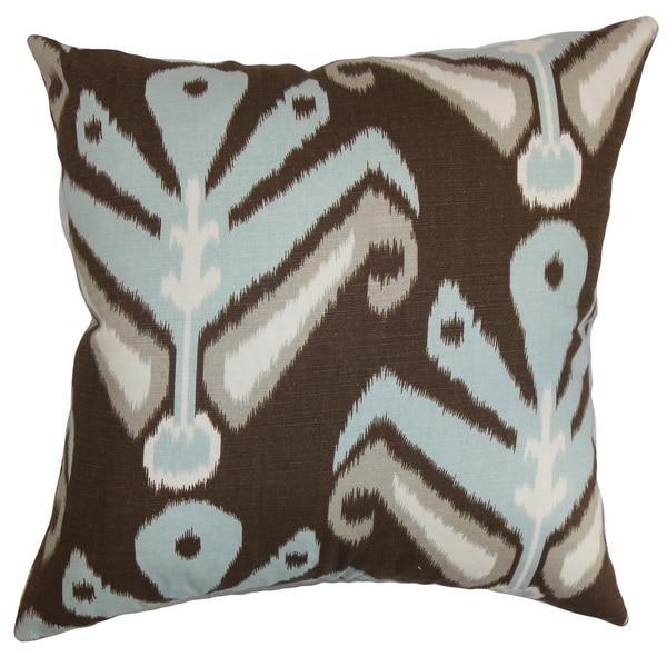 Decorative Pillow Covers Overstock : Sakon Ikat Throw Pillow Cover Ikat - Free Shipping Today - Overstock.com - 18840616