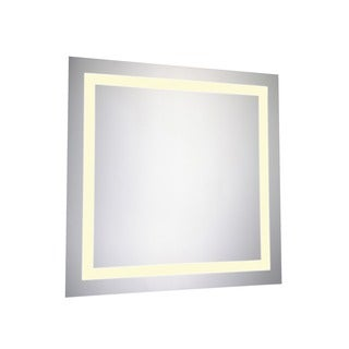 Elegant Lighting 28-inch Square LED Electric Mirror