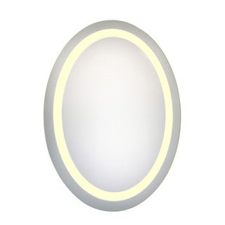Elegant Lighting LED Oval Electric Mirror (23 x 30)