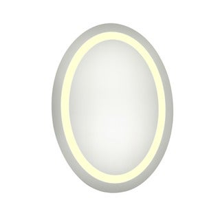 Elegant Lighting Oval LED Electric Mirror (21 x 28)