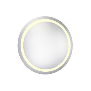 Elegant Lighting LED 42-inch Round Electric Mirror