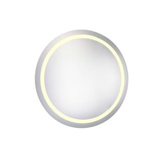 Elegant Lighting 30-inch Round LED Electric Mirror