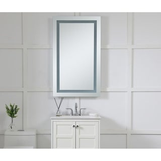 Elegant Lighting LED Rectangle Electric Mirror (24 x 40)