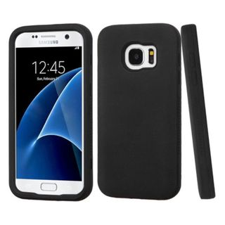 Insten Verge Hard PC/ Silicone Dual Layer Hybrid Rubberized Matte Case Cover For Samsung Galaxy S7