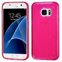 Insten Glittering TPU Rubber Candy Skin Glitter Case Cover For Samsung Galaxy S7