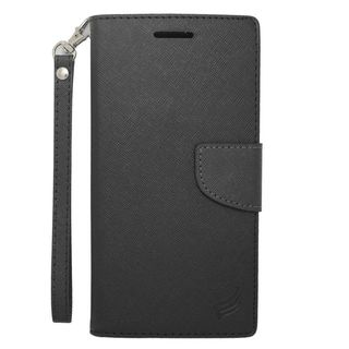 Insten Leather Case Cover Lanyard with Stand/ Wallet Flap Pouch/ Photo Display For HTC Desire 816