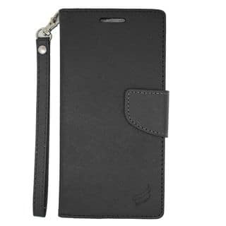 Insten Leather Case Cover Lanyard with Stand/ Wallet Flap Pouch/ Photo Display For HTC Desire Eye|https://ak1.ostkcdn.com/images/products/11955065/P18841086.jpg?impolicy=medium