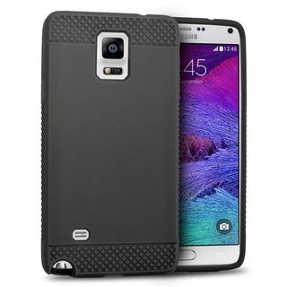 Insten TPU Rubber Candy Skin Case Cover For Samsung Galaxy Note 4