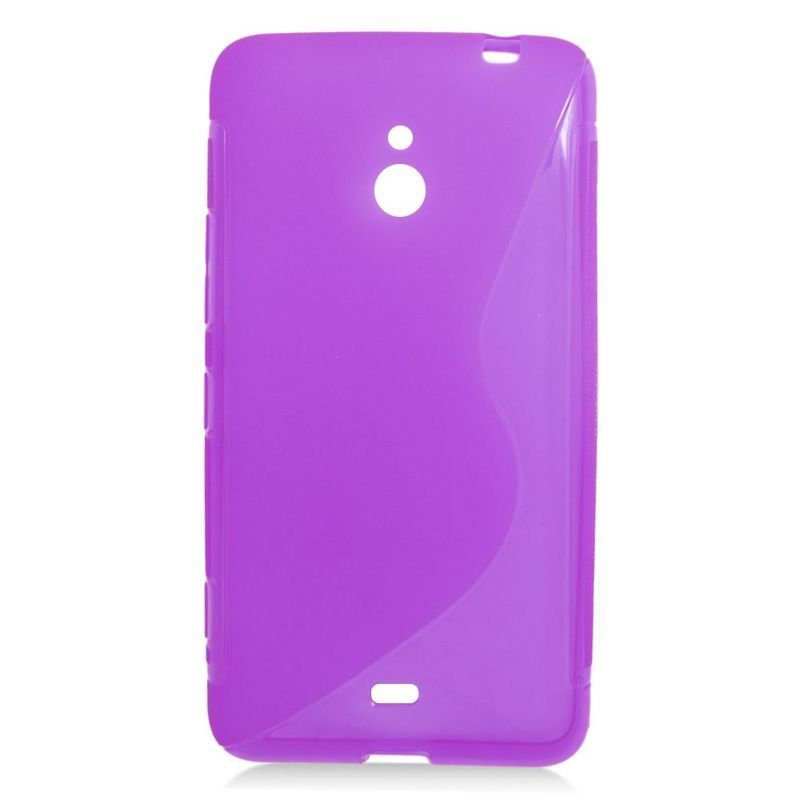 Insten TPU Rubber Candy Skin Case Cover For Nokia Lumia 1...