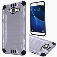 Insten Hard PC/ Silicone Dual Layer Hybrid Rubberized Matte Case Cover For Samsung Galaxy J7 (2016)