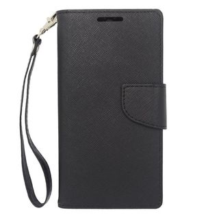 Insten Leather Case Cover Lanyard with Stand/ Wallet Flap Pouch/ Photo Display For HTC One M8