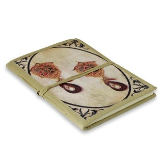 Handmade Paper 'Royal Past' Journal (India)