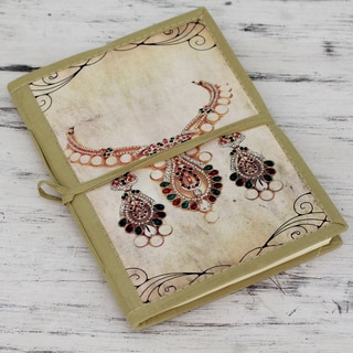 Handmade Paper 'Rajasthani Royals' Journal (India)