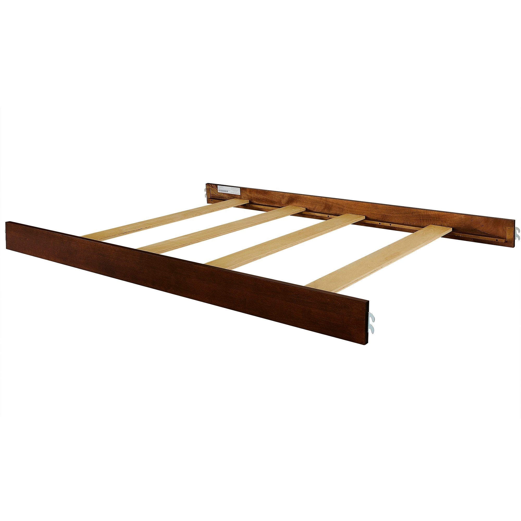 Evolur Convertible Crib Wooden Full Size Bed Rail (Sienna...