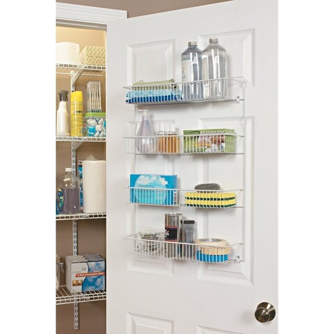 ClosetMaid Stainless Steel Multitier Wall Rack