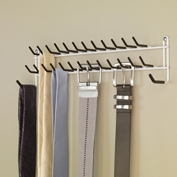 ClosetMaid Tie and Belt Rack. Opens flyout.