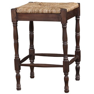Bramble Co. Veranda Cocoa Mahogany Counter Stool