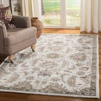 Safavieh Handmade Bella Light Grey/ Multi Wool Rug - 2' 3 x 7'