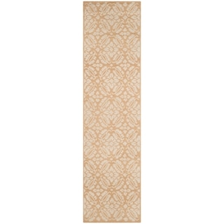 Safavieh Hand-hooked Chelsea Gold Wool Rug (2'6 x 12')
