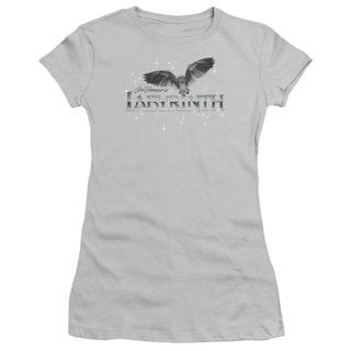 Labyrinth/Owl Logo Junior Sheer in Silver