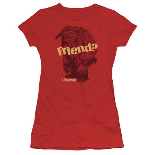 Labyrinth/Ludo Friend Junior Sheer in Red