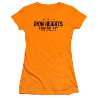 JLA/Iron Heights Junior Sheer in Orange in Orange