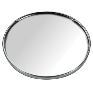 Custom Accessories 71112 3-3/4-inch Stick-On Blind Spot Mirror