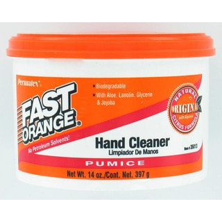Permatex 35013 14 Oz Fast Orange Pumice Cream Hand Cleaner