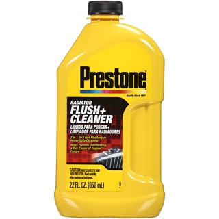 Prestone AS105Y 22 Oz Radiator Flush & Cleaner