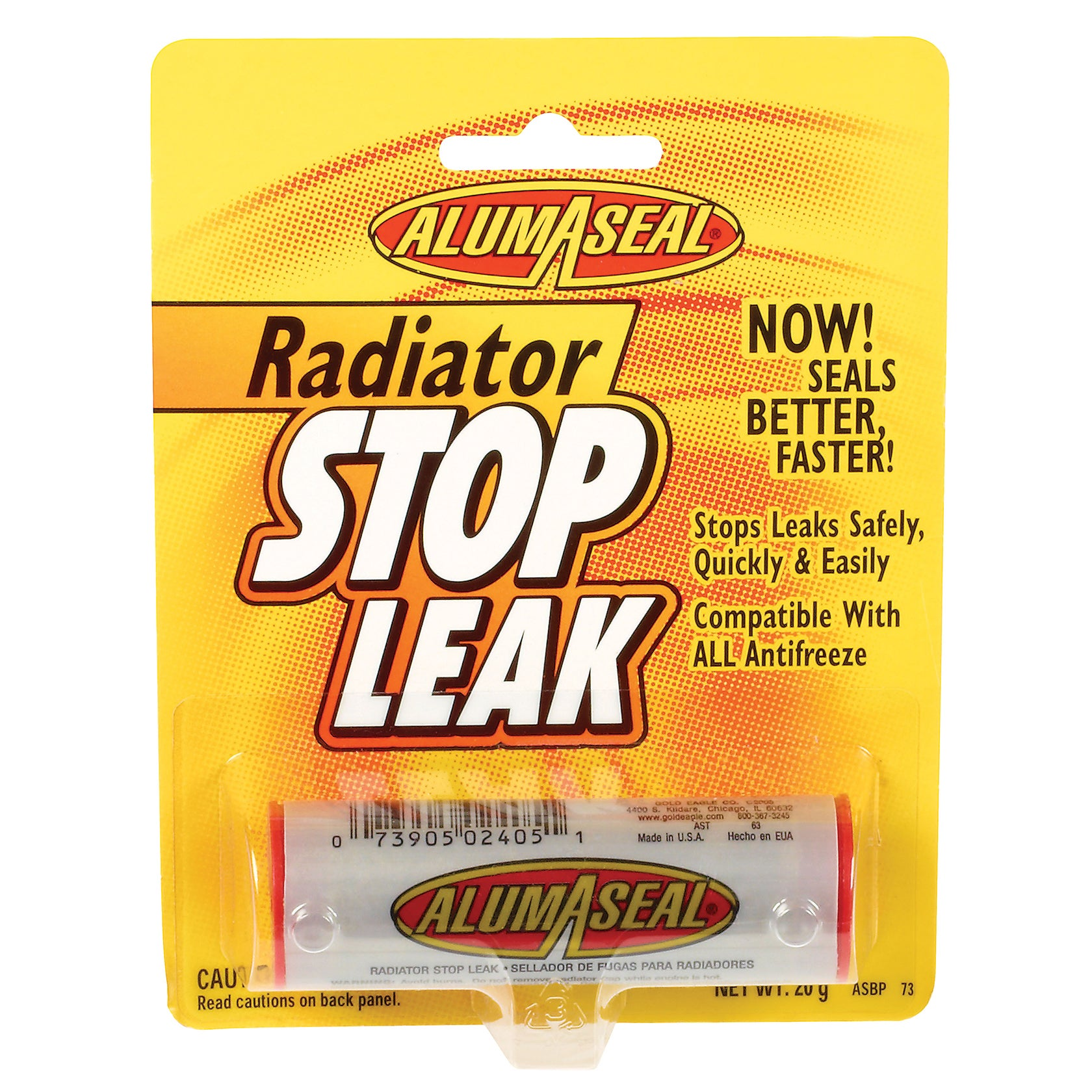 Alumaseal ASBPI12 1 Oz Radiator Sealer (Car care/cleaning...