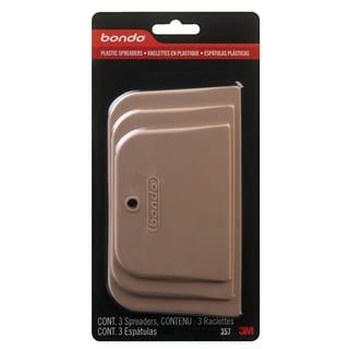 Bondo 357 3 Piece Plastic Spreaders