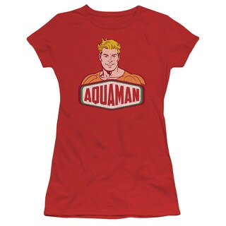 DCO/Aquaman Sign Junior Sheer in Red