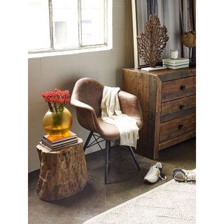 Chick Teak Capize Stool Free Shipping Today Overstock