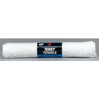 Buffalo 60229C 14-inch X 17-inch White Terry Cloth Towels 3-count