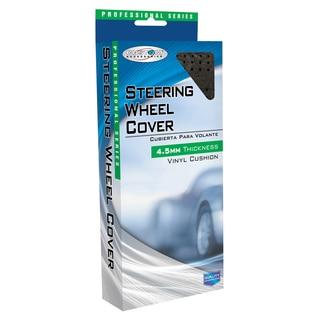 Custom Accessories 36000 Black Professional Series Steering Wheel Cover