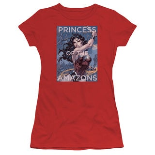 JLA/Princess Of The Amazons Junior Sheer in Red