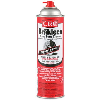 CRC 05050 14 Oz Brakleen Non-Chlorinated Brake Parts Cleaner