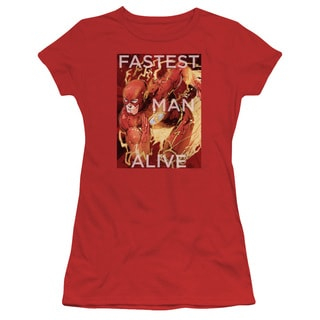 JLA/Fastest Man Alive Junior Sheer in Red