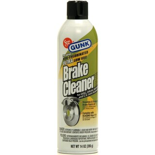 Gunk M710 14 Oz Pro Series Non Chlorinated Ultra Low VOC Brake Cleaner