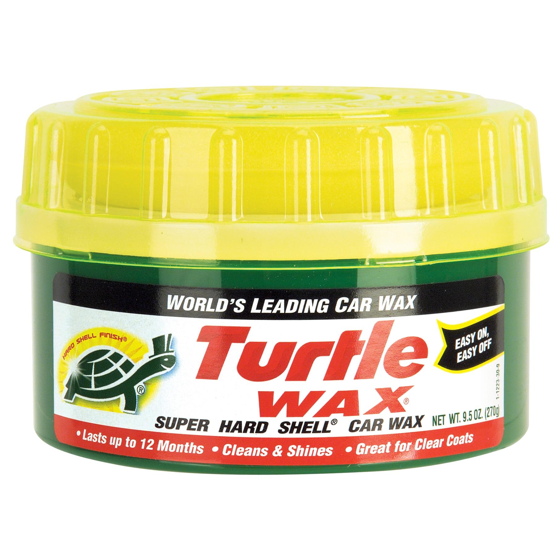 Turtle Wax T223R 9.5 Oz Super Hard Shell (White) Car Wax ...