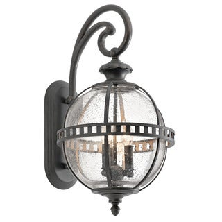 Kichler Lighting Halleron Collection 3-light Londonderry Outdoor Wall Lantern