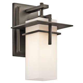 Kichler Lighting Caterham Collection 1-light Olde Bronze Outdoor Wall Lantern