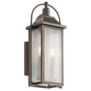 Kichler Lighting Harbor Row Collection 2-light Olde Bronze Outdoor Wall Lantern