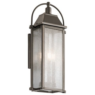 Kichler Lighting Harbor Row Collection 3-light Olde Bronze Outdoor Wall Lantern